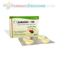 Kamagra 100mg Chewable Tablets