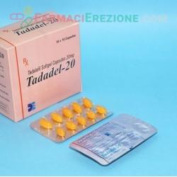 Tadadel 20mg Softgel Capsules